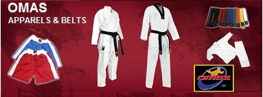OMAS martial arts products